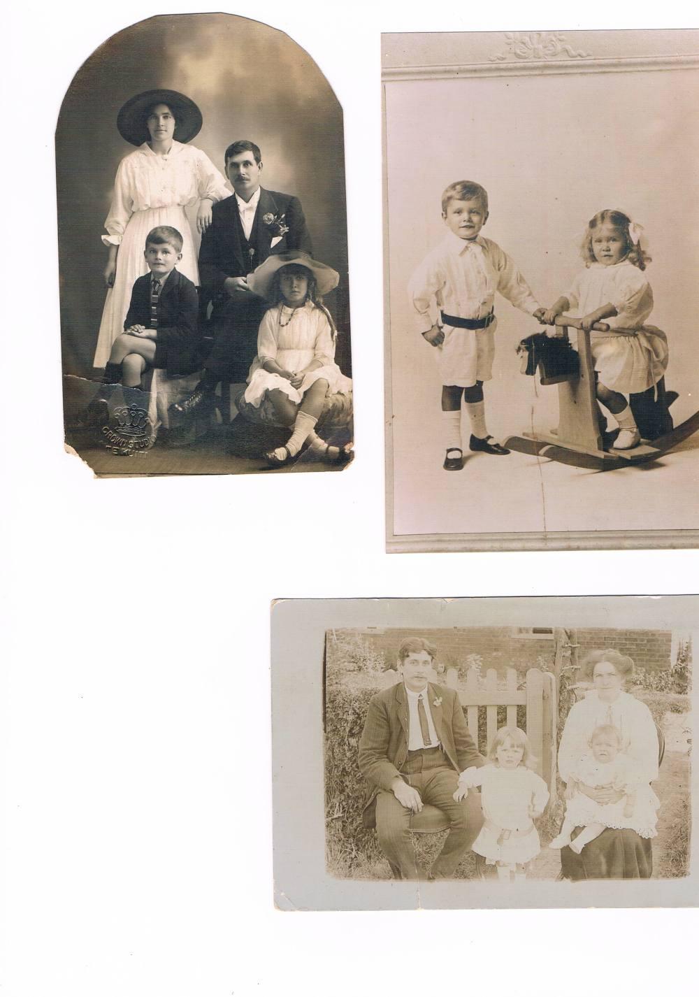 Elizabeth Wilson during childhood