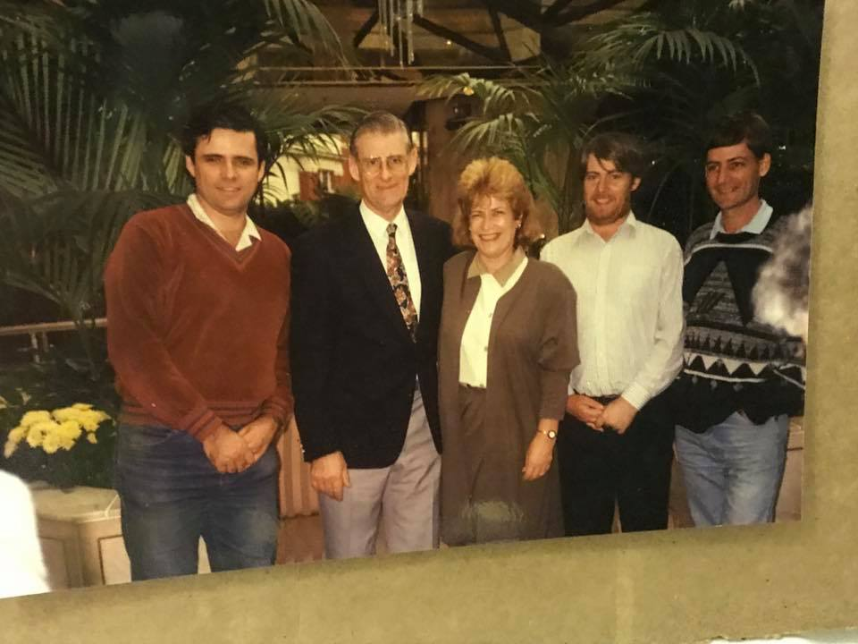 Wilson family in 80s to 90s